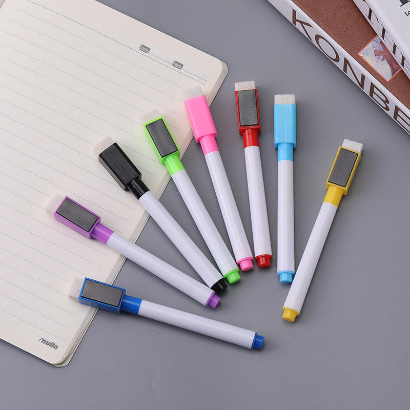 Factory Wholesale Custom Non Toxic Film 8 Color Dry Erase Whiteboard Marker Erasable Markers