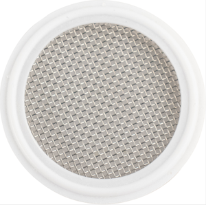 Hygienic PTFE Tri-Clamp Stainless Steel Mesh Screens Gasket with Mesh for the Most Filtration of Applications