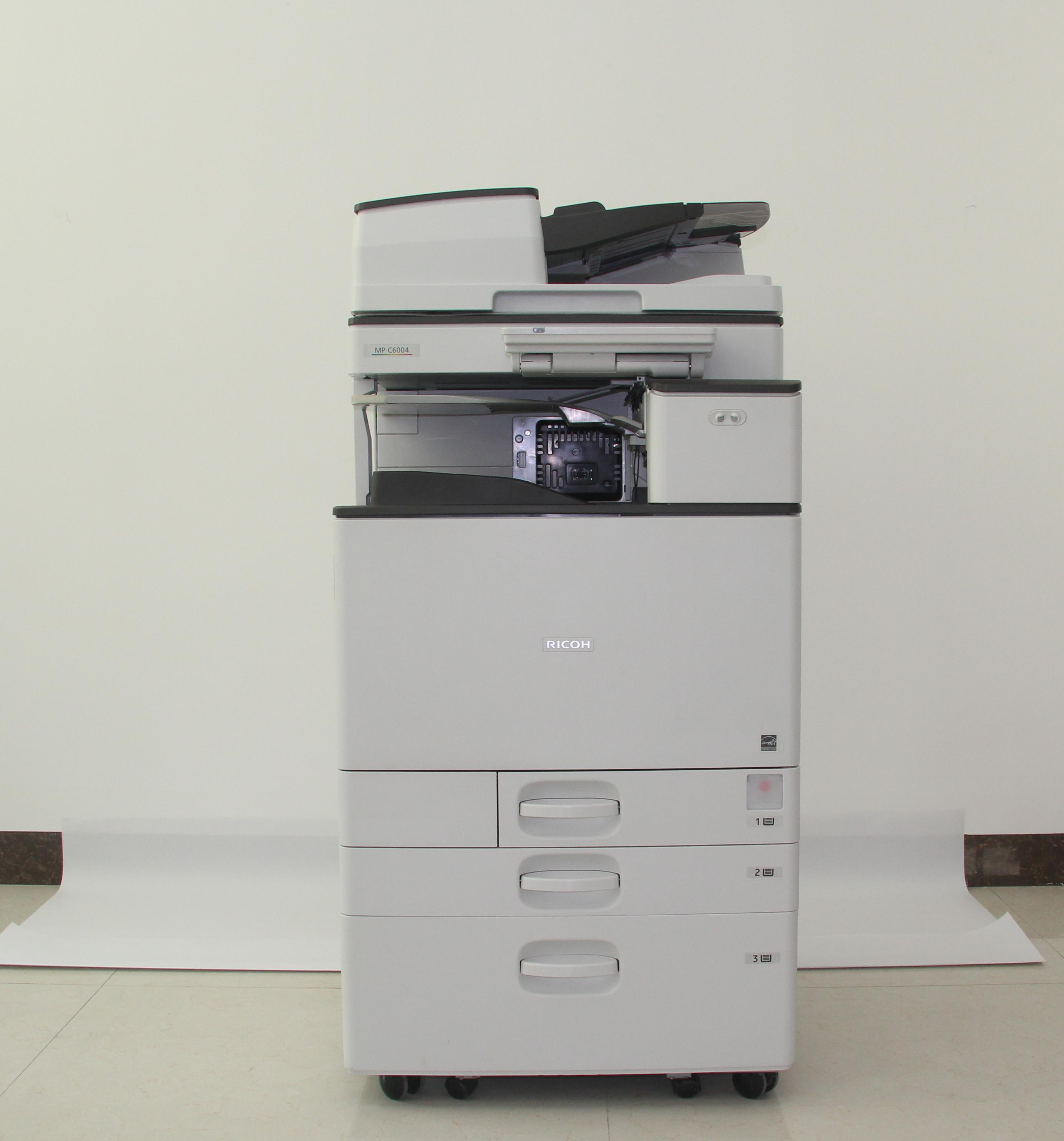 Hot sales Color photocopying machines and digital printing MP C4504EX supports Apple system Used photocopiers for RICOH
