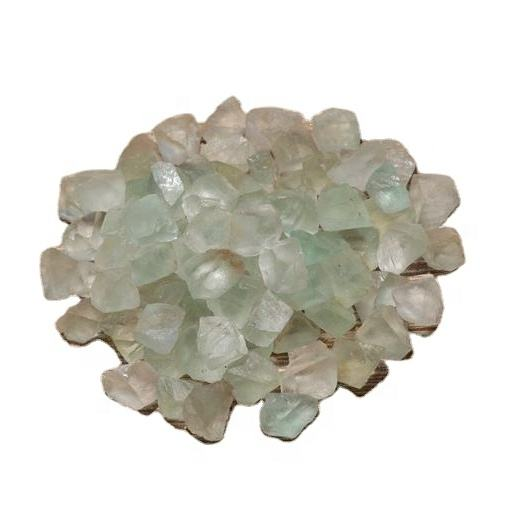 Green Fluorite Rough Natural Stone Raw Gemstone Crystal Rock Tumbling Cabbing Fountain Rocks Decoration Polishing Wire Wrapping