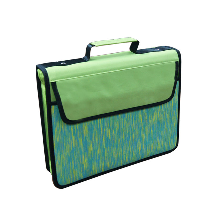 Custom 2 Inch Met Handvatten Rits <span class=keywords><strong>Bindmiddel</strong></span> Voor School/Business Nylon School 3 Ring Binder Met Expending Pocket