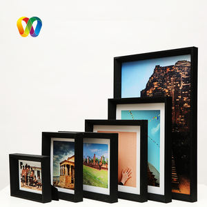 Double 100 Marcos De Fotos Sport Shadow Box Frames Jersey Decorative Shadow Box Picture Frames Cadre Photo