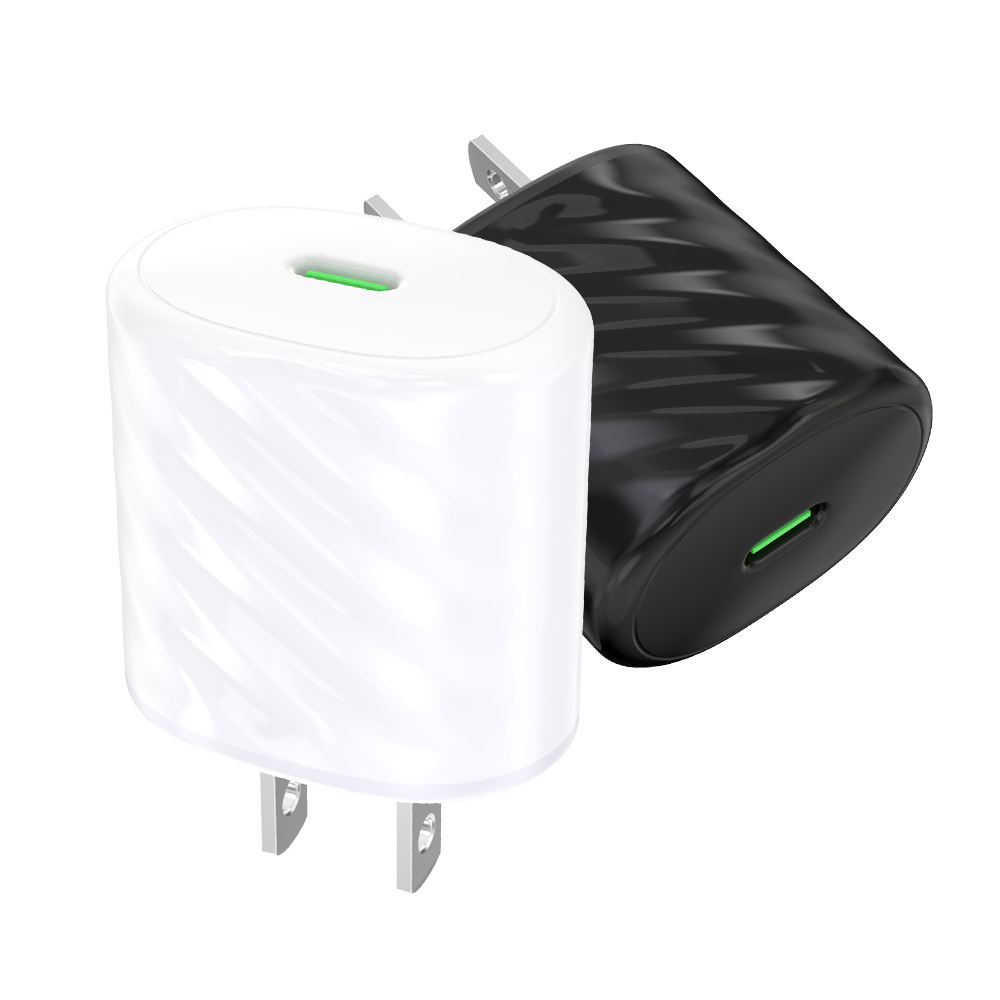 ETL CE US USA EU UK Plug Type C Power Adapter Charger 20W USB C PD Charger Wall Fast Charging for I Phone 12