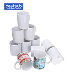 Manufacturer Wholesale High Quality 11oz Coffee Cup White Wholesale Product Ceramic Coffee Mug Sublimation Blank
