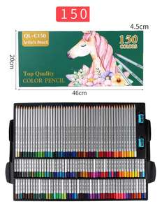 150 kinds of color wooden sketch advanced professional pencil pencil set color HB pencil drawing