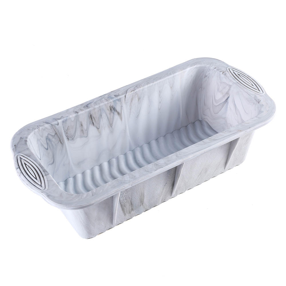 Premium Silicone Bread Loaf Pan Nonstick Baking Toast Molds For Homemade Cakes Breads Meatloaf and Quiche