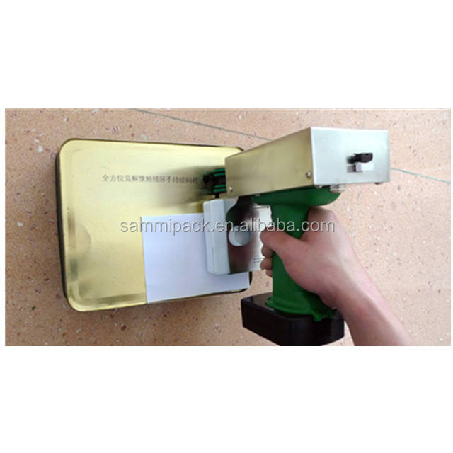 Promote hand inkjet printing machine with long life digital LCD screen