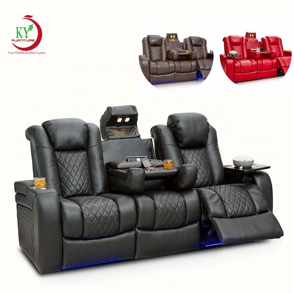 JKY Furniture Comfortable Multifunctional Home Theater Cinema Seating Recliner Sofa Chair