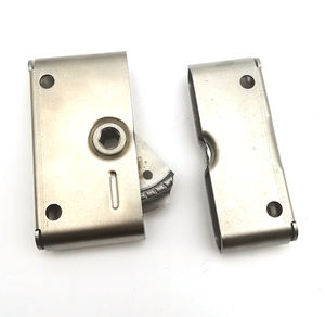 FS6050 R2/R5 Sip Pu Zinc Plated Steel Draw Latch southco Receptacle Concealed Butt-Joint Panel truck Fastening Latches