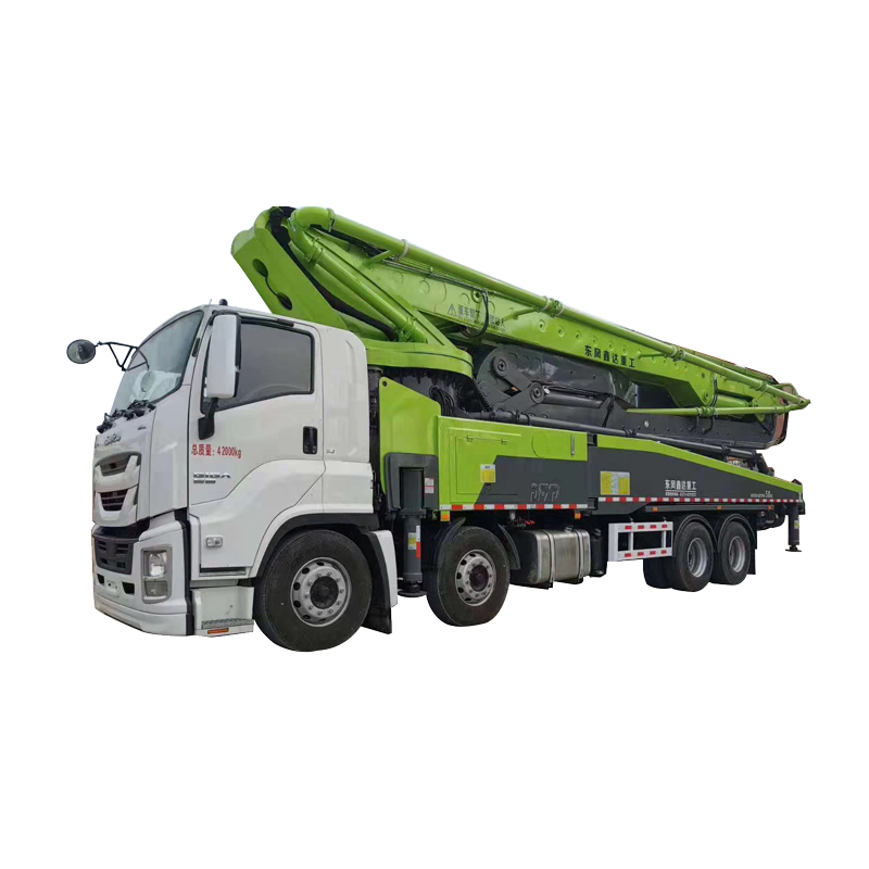 Most demanded products in india 52m high working water pump concrete mixer truck