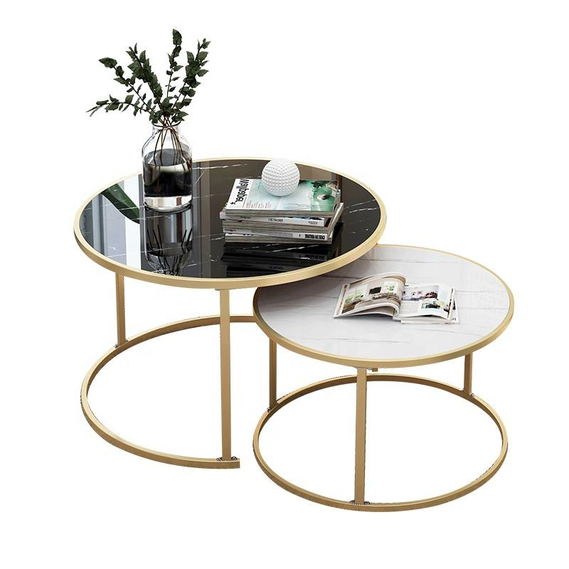 Nordic living room sofa side table simple modern simple small coffee table light luxury small apartment tea table