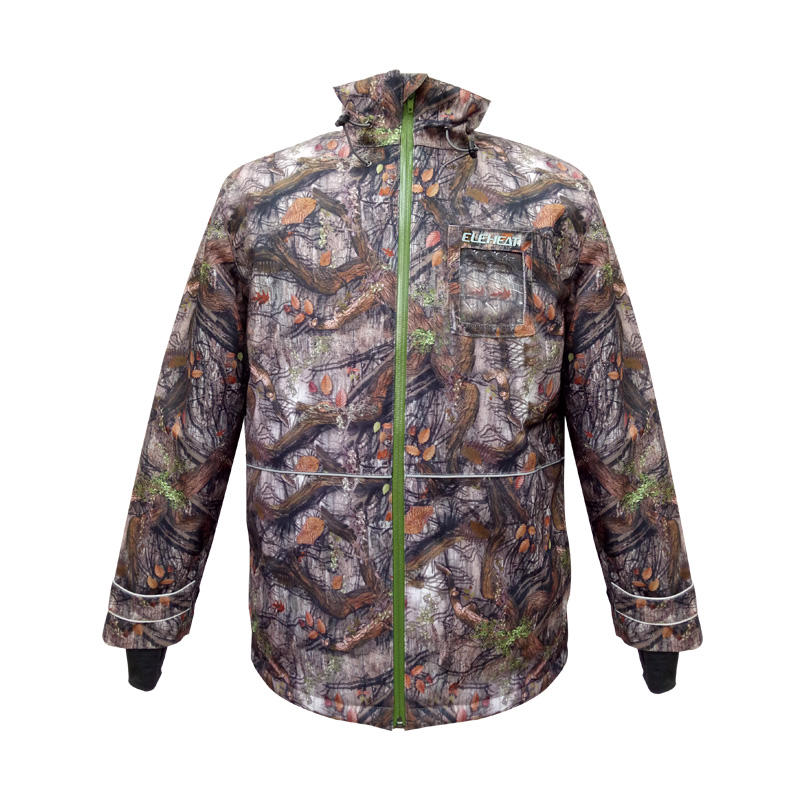 Thermal Camouflage Color of Skiing Electric Heated Hunting Clothing For Male