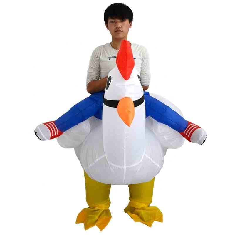 School Games Bar Toy Clothes Halloween props Festival activities inflatable costumes Duck inflatable clothing