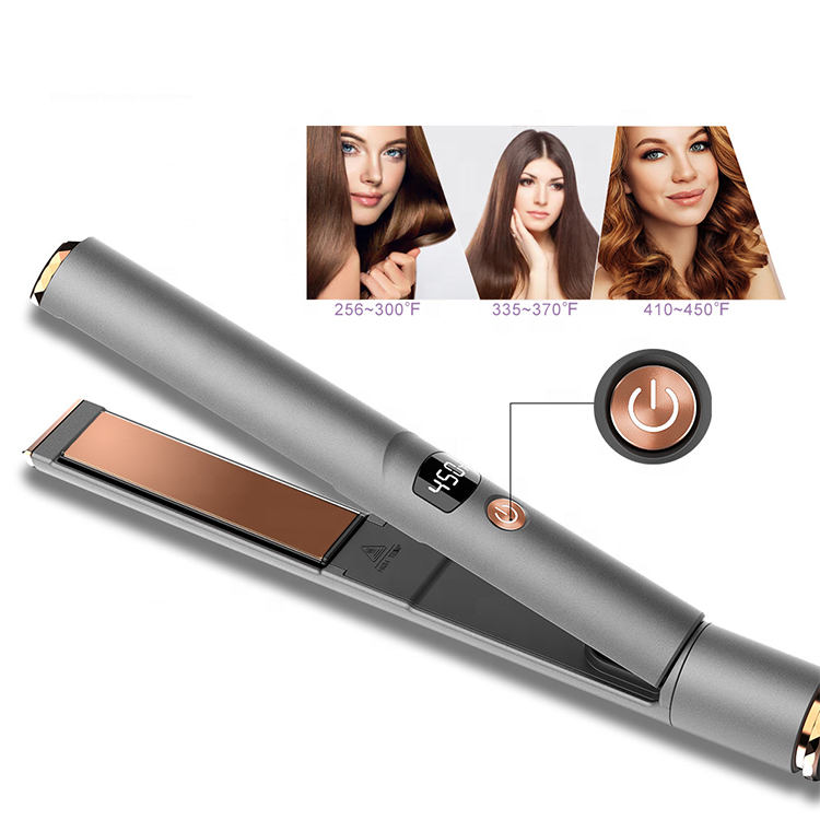 Best Wireless flat iron private label FLAT IRON with travel Flat iron hair straightener