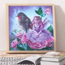 2019 New Wall Decorative Art Beautiful Girl DIY 5d Diamond Painting Kit