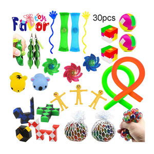 30PCS Wholesale Small Novelty Sensory Fidget Stress Relief Toys for Kids