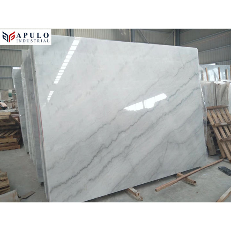Natural polished cheapest guangxi white grey marble slab names of low price in philippines kuwait bathroom floor tiles