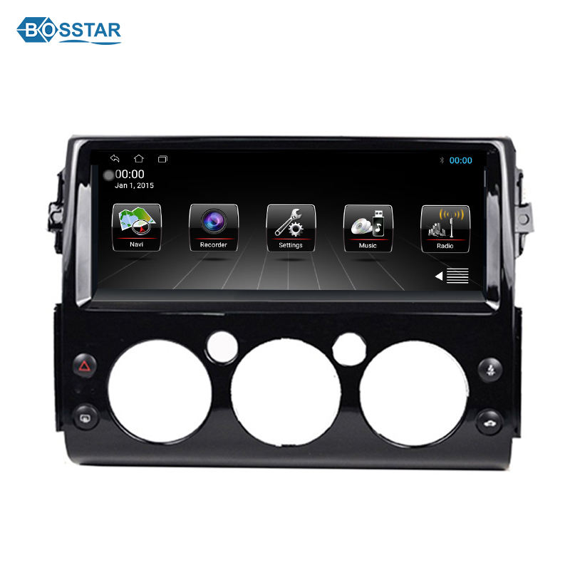 Android 12.3 Inch Car Radio Dvd-speler Met Entertainment Systeem Wifi Gps Voor Toyota Fj Cruiser