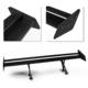 Rear Spoiler Car 53.15'' Double-deck Rear Wing Trunk Spoiler Lightweight Aluminum Alloy Black Car Tuning GT Wing Styling Tail Spoiler