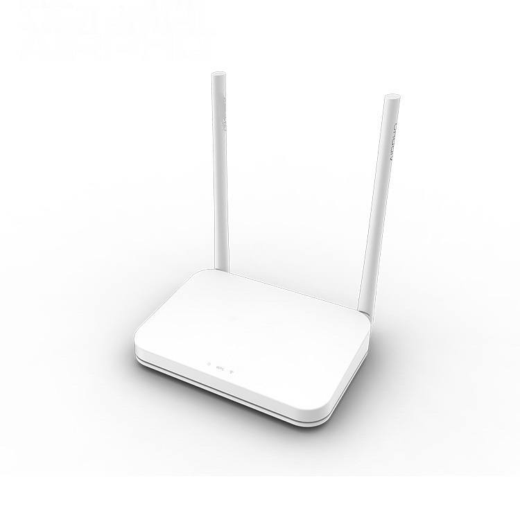 300Mbps wireless router for wifi network - 4 LAN ports 12V router (EU)