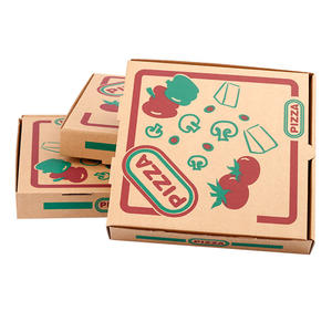 OEM factory 12inch take out pizza delivery box with custom design hot sale