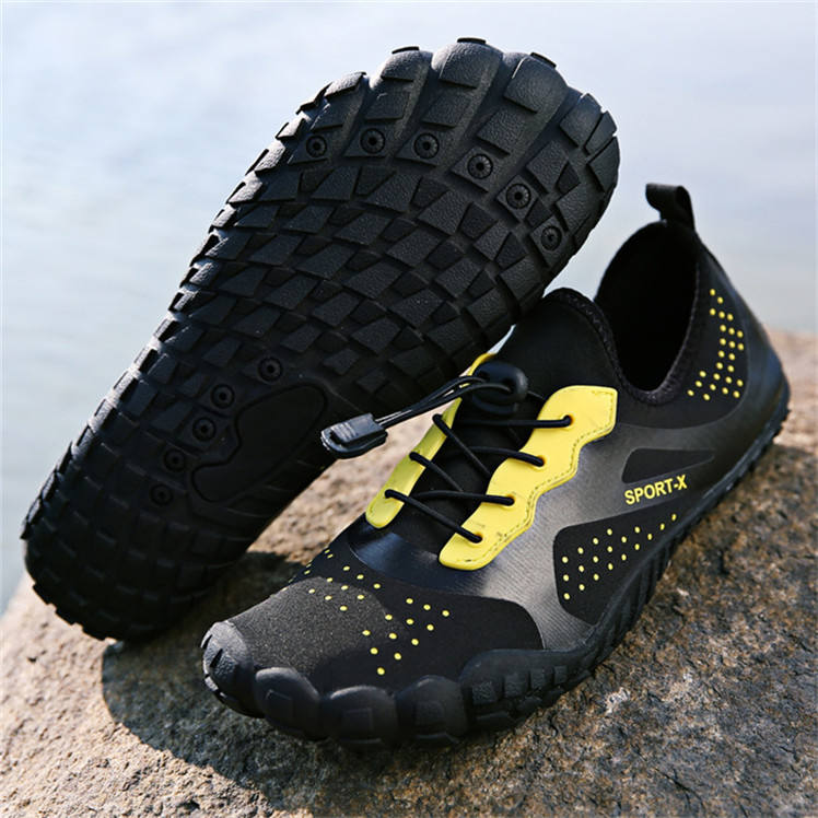 Five fingers toe design lightweight aqua water sock shoes water proof shoes