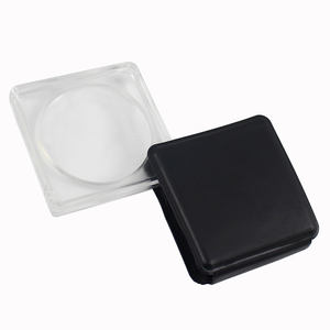 Wallet Size Plastic Frame Small Magnifier For Present