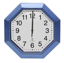 WCRD19002 2020  CE radio controlled wall clock special shape  no-ticking analog wall clock-grey