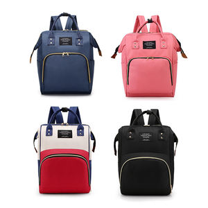 2019 Aliexpress hot selling Lequeen mommy Nappy Bag Travel Backpack Multifunctional Backpack Diaper Bag