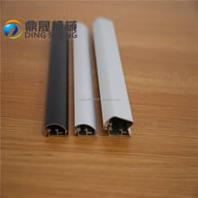 Aluminum moulding profile snap frame film sticking