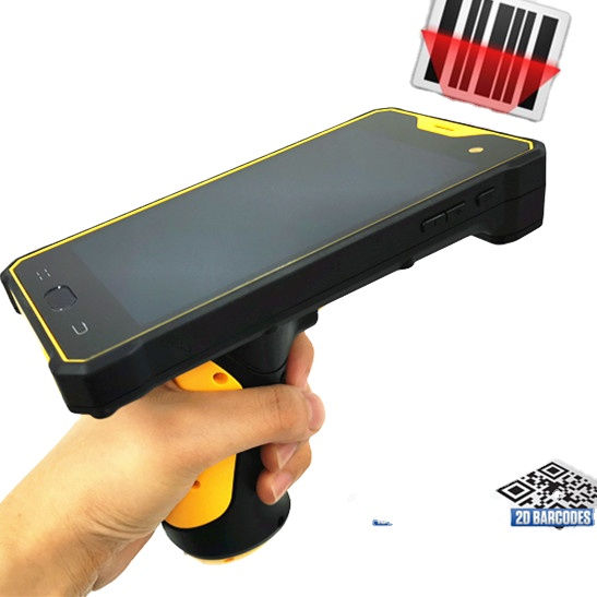 Barcode Scanner Androide Pda Handheld Android Barcode Scanner Pistol Grip Pda