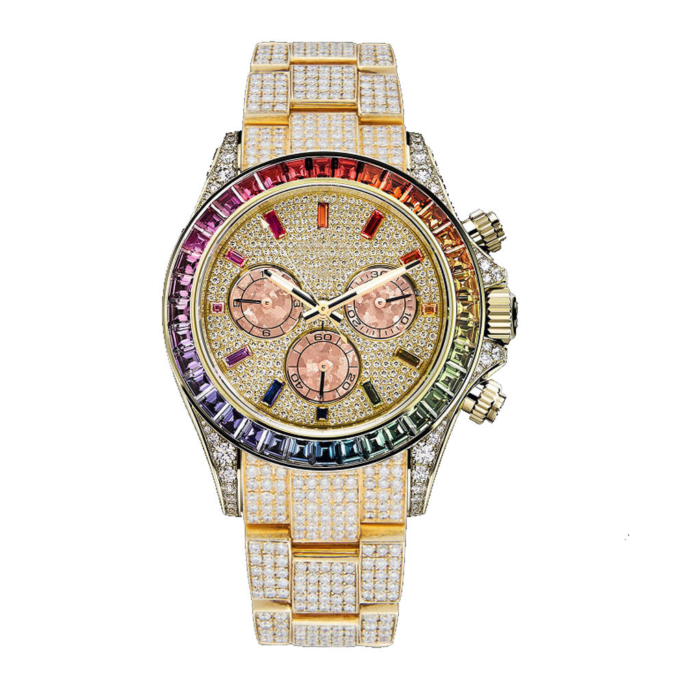 Shifenmei A1092 watch ladies and men Bling diamond men's business watch stainless steel hot fashion ladies watch female