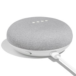 Google Function Wireless peaker Assistant Gray Mini Speech Recognition Plastic Material