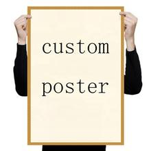 Factory custom design A1 A2 A3 A4 poster printing