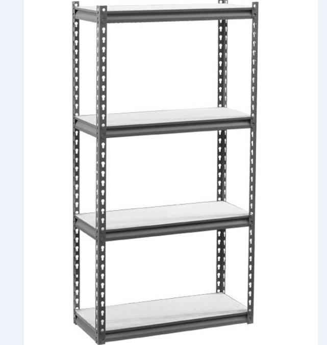 Adjustable light duty 5 tier aluminum boltless shelving