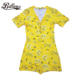 Printed [ Nightwear ] Onesie Sexy Womens Custom Sexy Nightwear Summer Jasmine V-Neck Women East Fashion Onesie