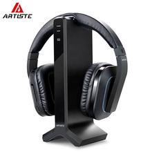 Home Theater HIFI Wireless Rechargeable Headset Adjusted headband TV Watching Headphones With Optical Coaxial RCA 3.5MM jack