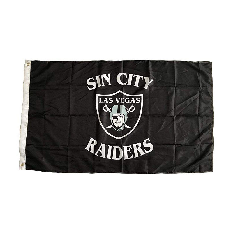 <span class=keywords><strong>Las</strong></span> <span class=keywords><strong>Vegas</strong></span> Raiders 3x5 NFL Bandeira Da Bandeira Da Bandeira Ao Ar Livre Indoor