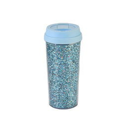 Pura Vida Ultra Fine Glitter  Pura Vida-BPA free wholesale  Amazon best selling 450ml luxury coffee cup leak proof coffee mug