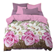 New Style Polyester Bedding Set Chinese Style Bed clothes Pillow Case Quilt Cover Bed Sheet