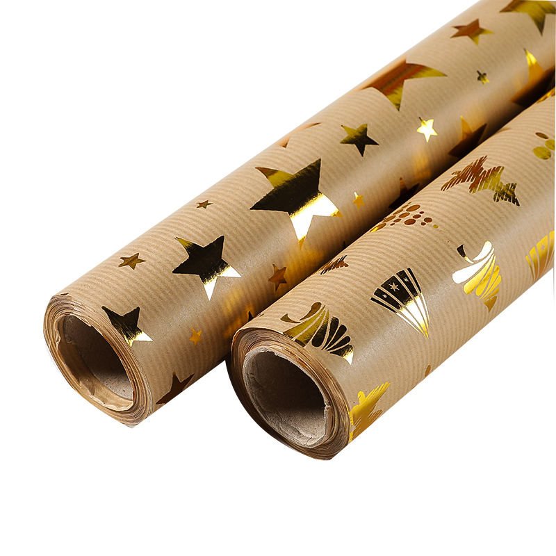 Personalized wrapping paper Shine Star packaging festival for xmas wrapping paper