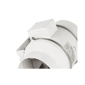 4 6 8 Inch 390 CFM Inline Duct Fan with Variable Speed Controller for Ventilation