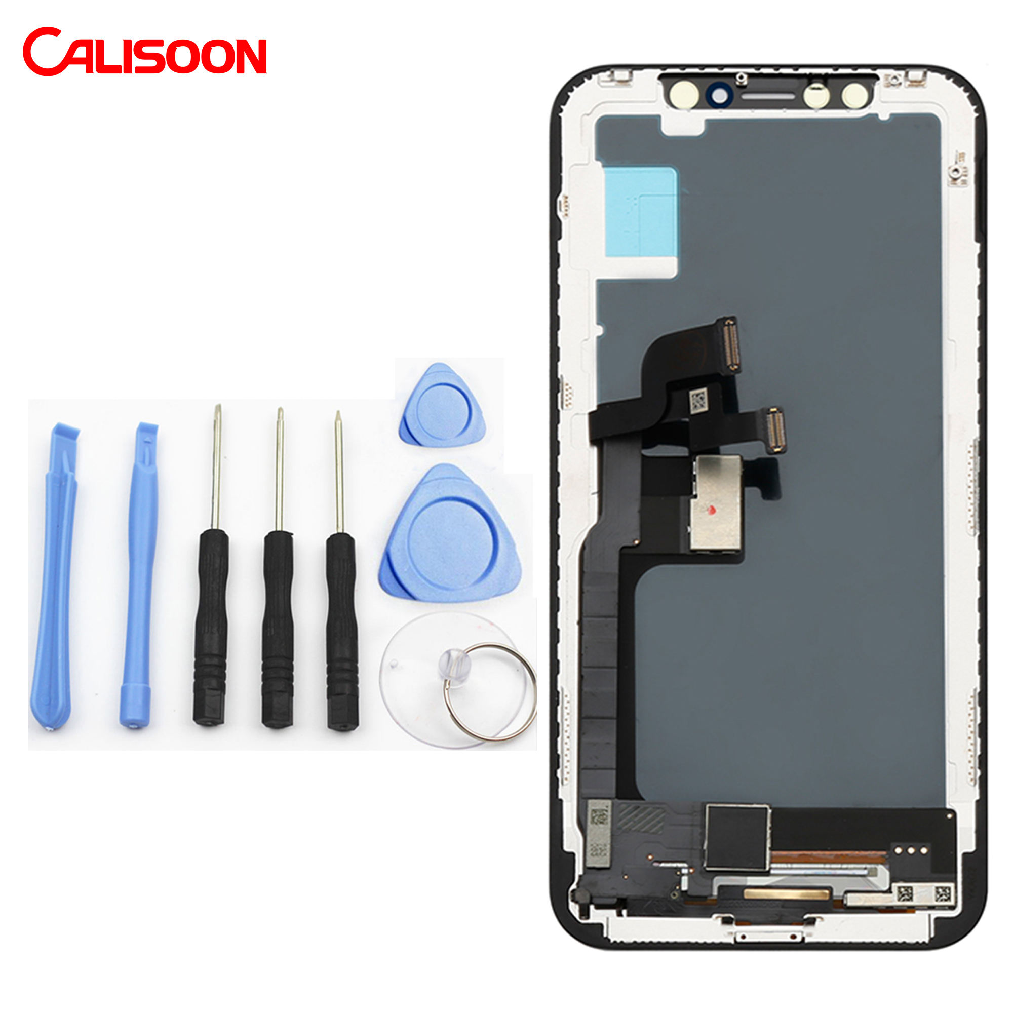 FREE Repair Tools With Touch Screen Display Digitizer Assembly LCD For Iphone 5 5s 6 6s 7 plus 8 plus X XR XS MAX