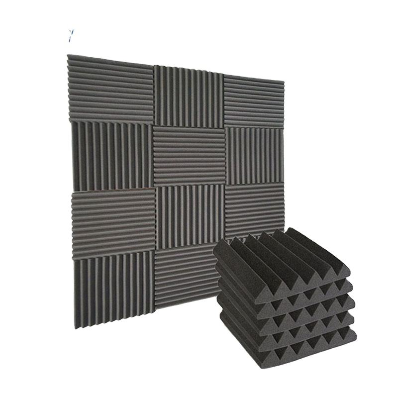 China Sound Shield Acoustic Absorption Wedge Foam Panel