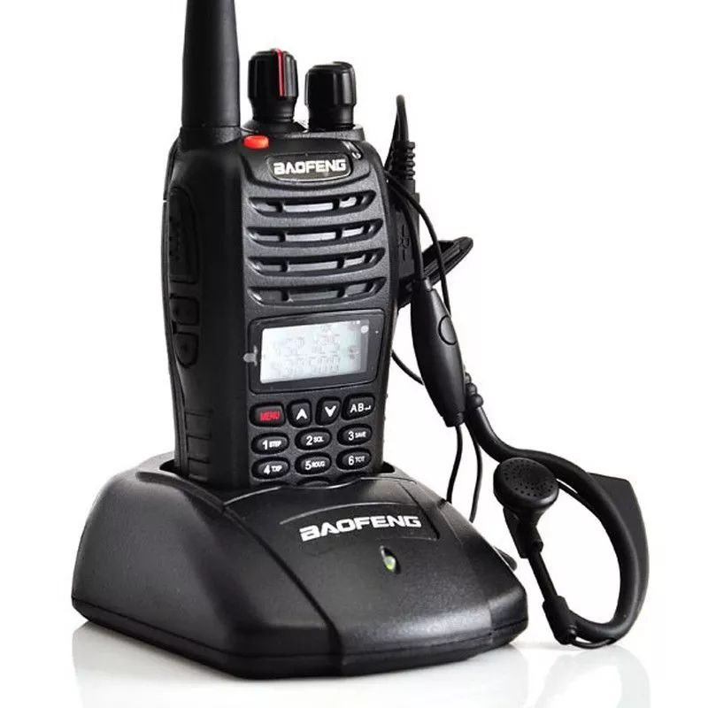 10Km Walkie Talkie VHF Baofeng UV-B5 Handheld Dual Band Wireless Komunikasi <span class=keywords><strong>Radio</strong></span>