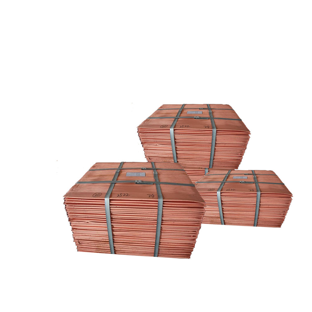 Copper Cathode 99.99% Cu with best quality