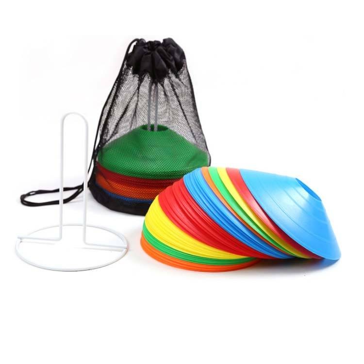Hot selling Wholesale plastic sport agility set soccer cone cones for training
