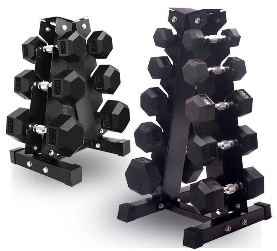 Coated Hex Dumbbell Weights