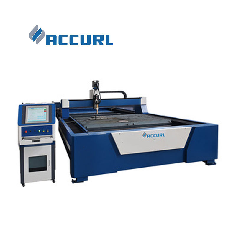 ACCURL High speed metal sheet cnc plasma cutting machine price for stainless steel carbon steel