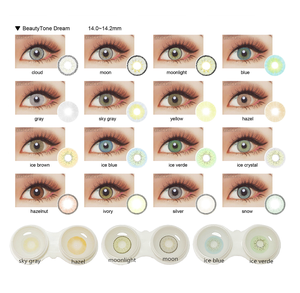 Océan CHAUD style gros contacts colorés look naturel Chine annuel batis lentilles de contact